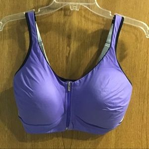 Victoria's Secret Purple Sports Bra 36DD
